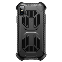 Чехол Baseus Cold front cooling Case для iPhone Xs Max Чёрный