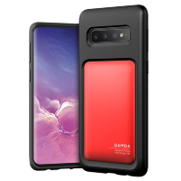 Чехол VRS Design Damda High Pro Shield для Galaxy S10 Deep Red